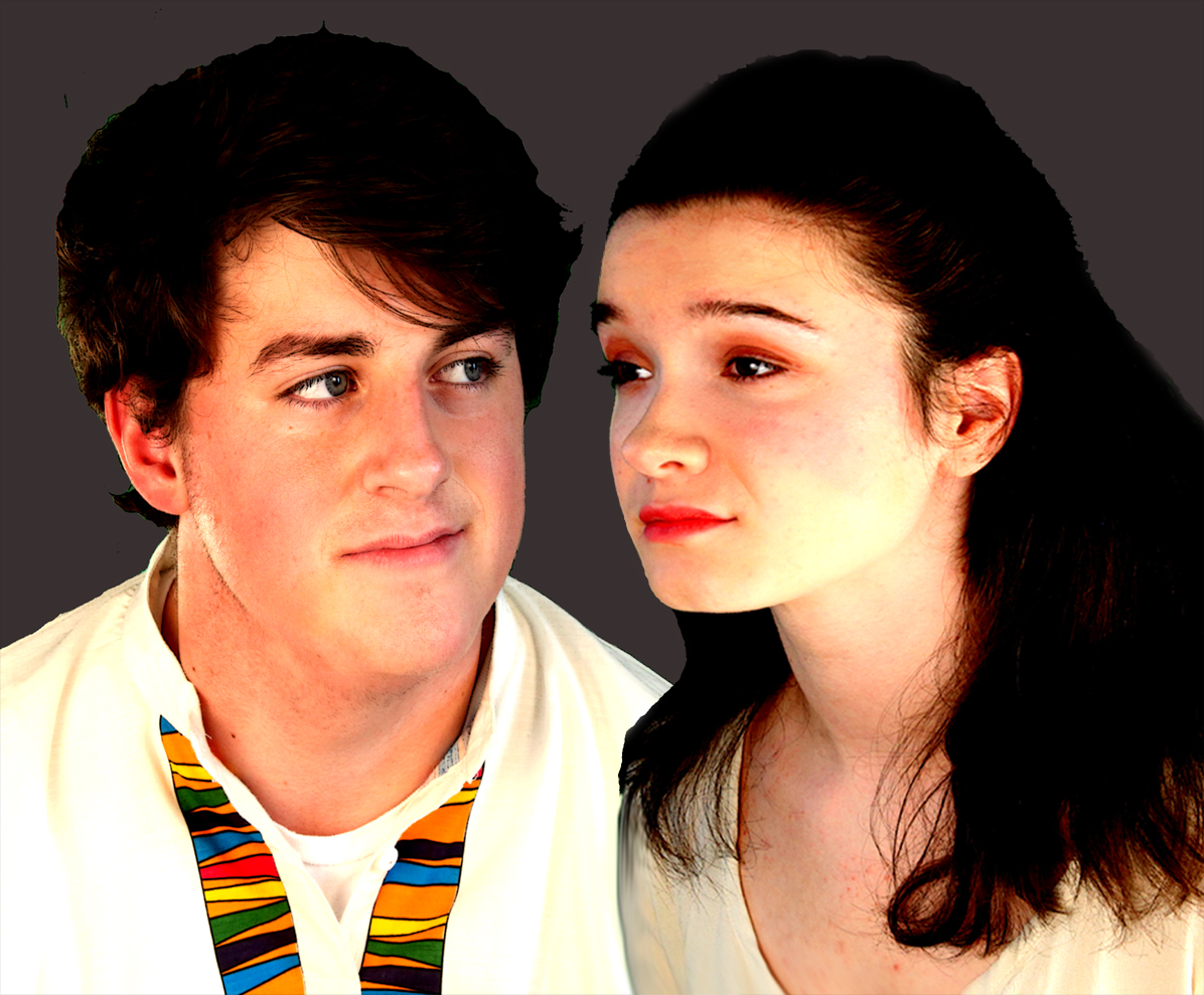 Tiarnan Barrett as Ferdinand and Heather Frederick as Miranda